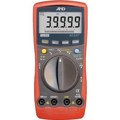 エー・アンド・デイ A&D デジタルマルチメーター高分解能、高機能形温度測定 AD5517