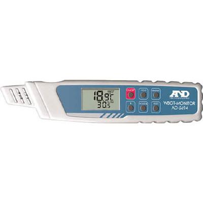 【ラッピング無料】エー・アンド・デイ A&D 携帯型熱中症指数モニター AD5694