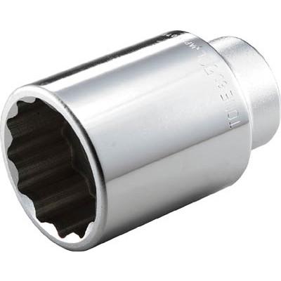 作業用品 ソケットレンチ ソケット TONE TONE ディープソケット(12角) 35mm 6D35L 6D-35L