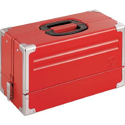 【メーカー欠品中 納期未定】TONE ツールケース(メタル) V形3段式 433X220X240mm BX331