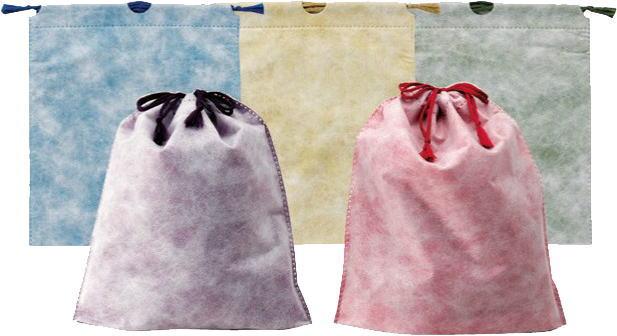 【送料無料】(北海道・九州・沖縄・離島は除く)和風ギフト巾着袋(単色500枚)