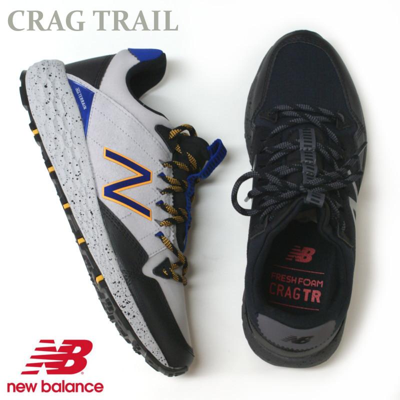 ニューバランス トレイルシューズ New Balance MTCRG (LM1)GRAY・(LB1)ブラック アウトドア―