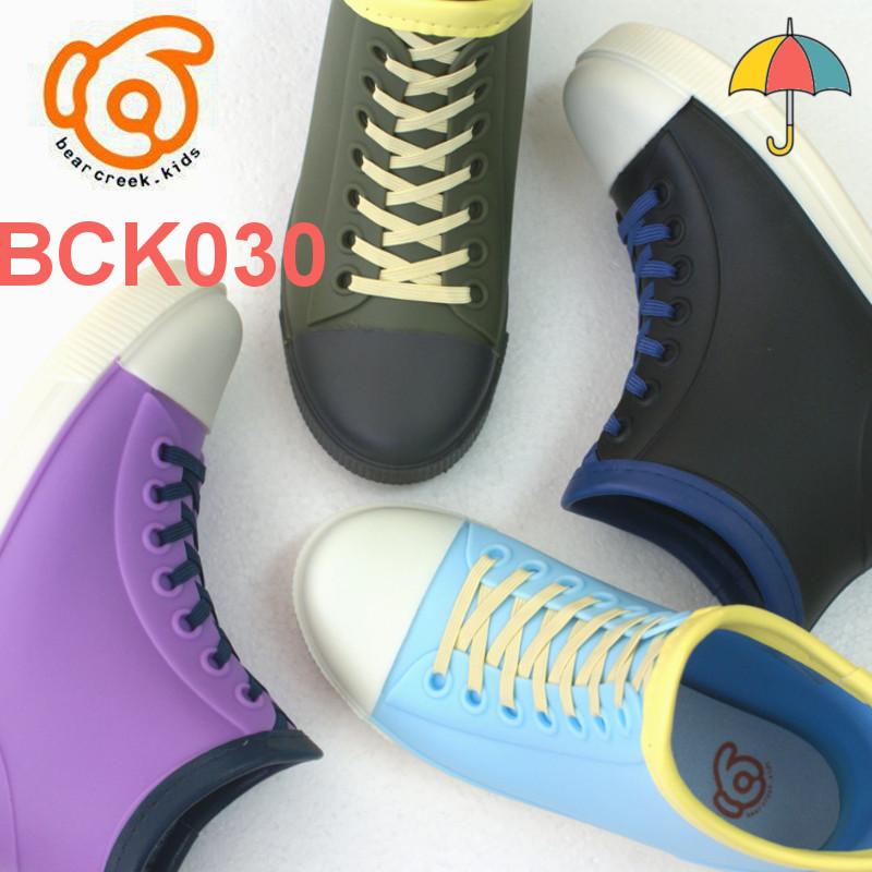 ベアクリーク ジュニア キッズ 長靴 レインブーツス Beareek スニーカーデザイン レインブーツスニーカーデザイン 卸直営 BCK030 新入荷 人気