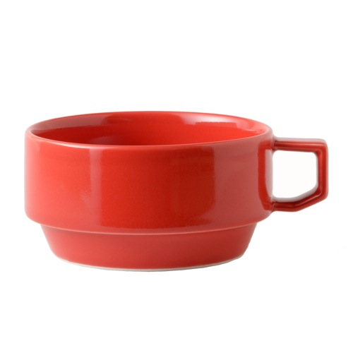 HASAMI BLOCK MUG SOUP RED (SEASON1)