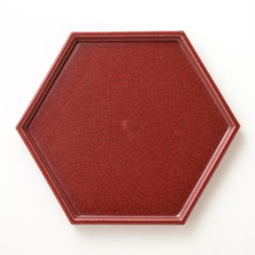 HASAMI HONEYCOMB TRAY SIZE 5 RED (SEASON2)