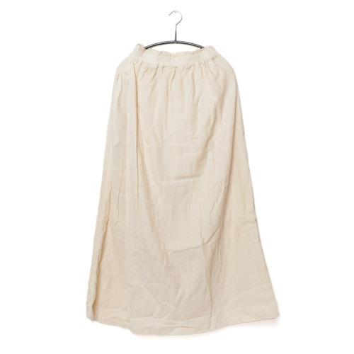 鄭惠中さんの 綿麻パンツスカート(フリーサイズ) 生成色