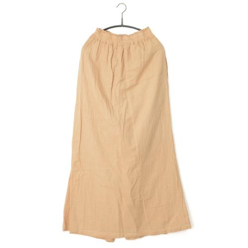 鄭惠中さんの 綿麻パンツスカート(フリーサイズ) 肌色