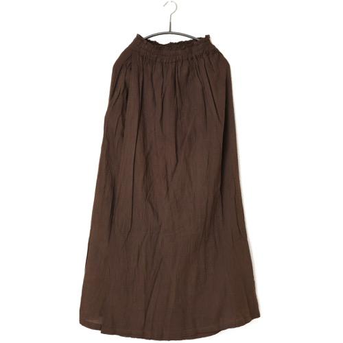 鄭惠中さんの 綿麻パンツスカート(フリーサイズ) 憲法色
