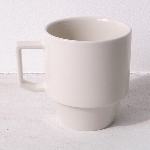 HASAMI BLOCK MUG BIG WHITE (SEASON1)