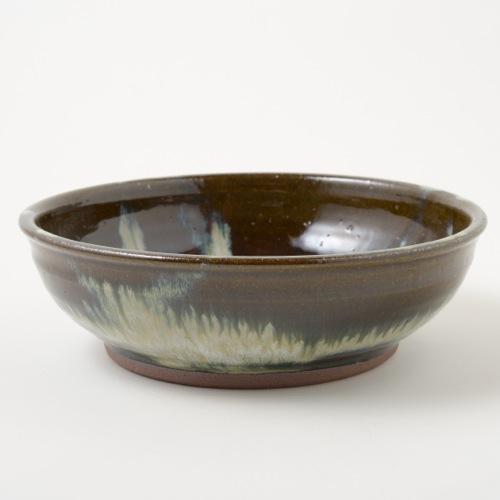 小代焼ふもと窯 小代焼 八寸鉢