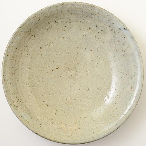 ソロソロ窯 尺皿 白