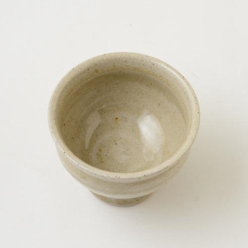 まゆみ窯 透明釉 高高台湯のみ
