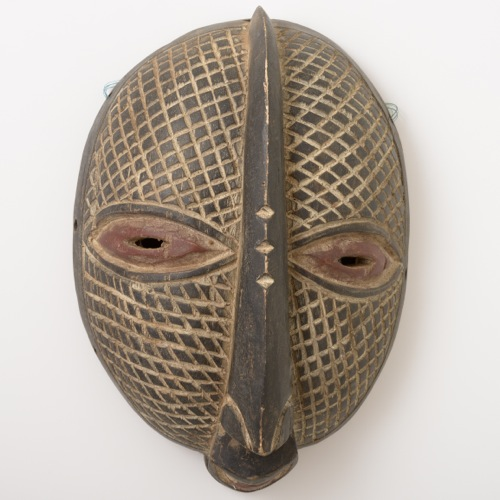 コンゴ民主共和国 ルバ族の仮面