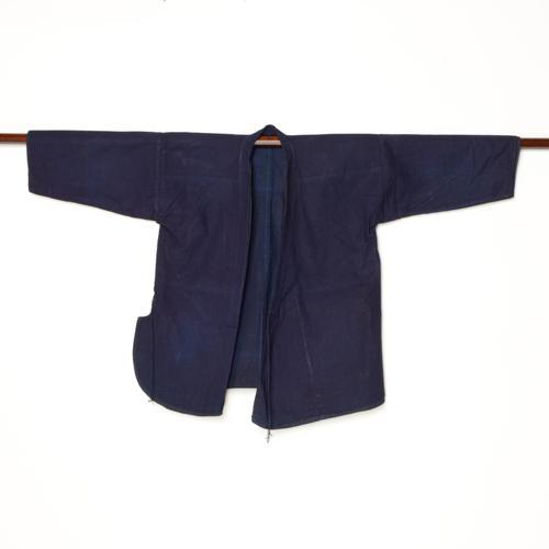 中国 雲南省 ハニ族 女性藍染衣装 二層