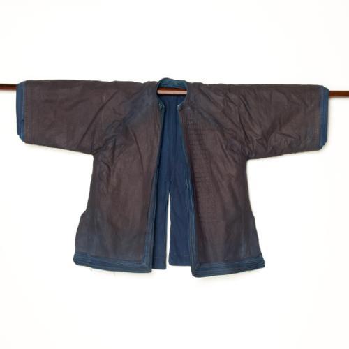 中国 雲南省 ハニ族 男性藍染衣装 十二層