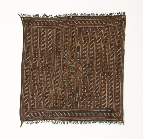 ベトナム 赤ザオ族 刺繍布(オールド)