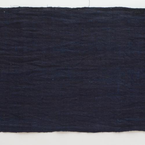 ベトナム黒モン族 藍染め布 430 X 28cm