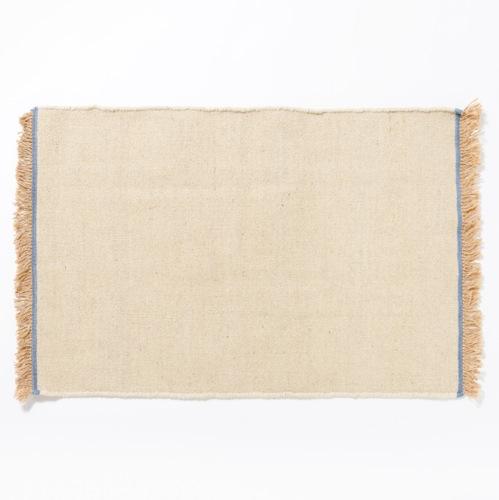 Suno & Morrison Indigo Wool Rug 60-90 Ivory