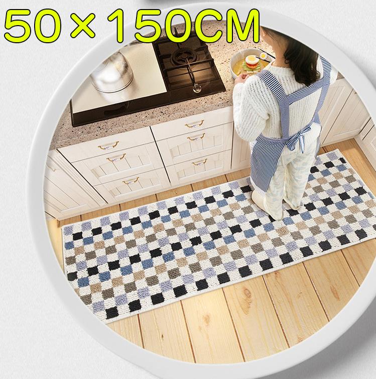 キッチンマット 50×150 新着セール 北欧 洗える 絨毯 滑り止め付 カーペット 夏 キッチン 冬 マット ラグ 新発売