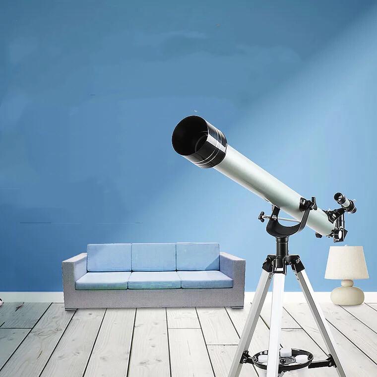 天体望遠鏡 子供 接眼レンズ 45~525倍 屈折式 入学祝い 家庭用 誕生日 プレゼント 長期保証
