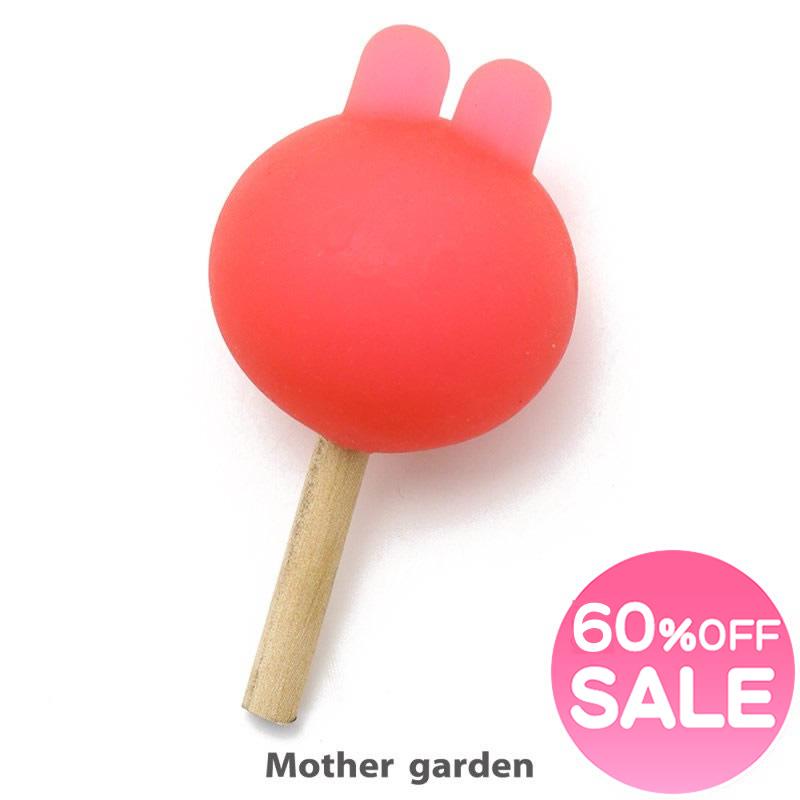 SALE 60%OFF マザーガーデン スクイーズ 《うさもも 耳付 大特価!! りんご飴 》 スイーツ アイススイーツ やわらか低反発 セール 激安通販販売 お買い得アイテム デザート やわらかおもちゃ 値下げ