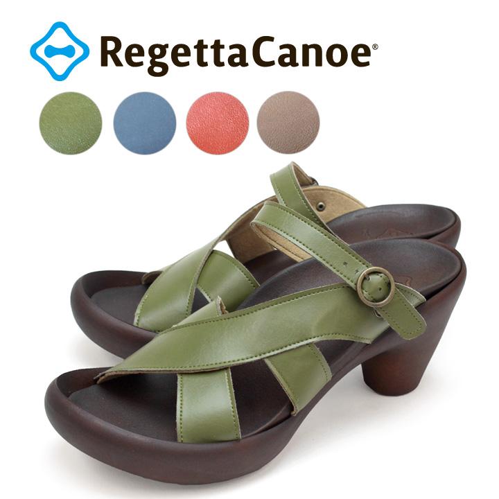 RegettaCanoe -リゲッタカヌー-CJBN-5731 アシンメトリーデザインベルトサンダル