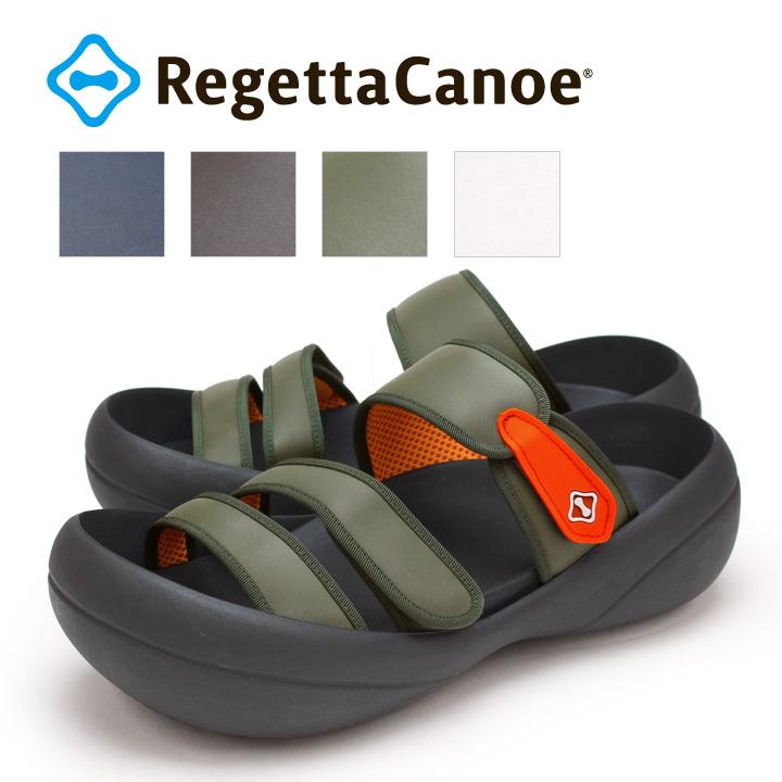 RegettaCanoe -リゲッタカヌー-CJBF-5004 ビッグフット パイピングベルトサンダル/メンズ