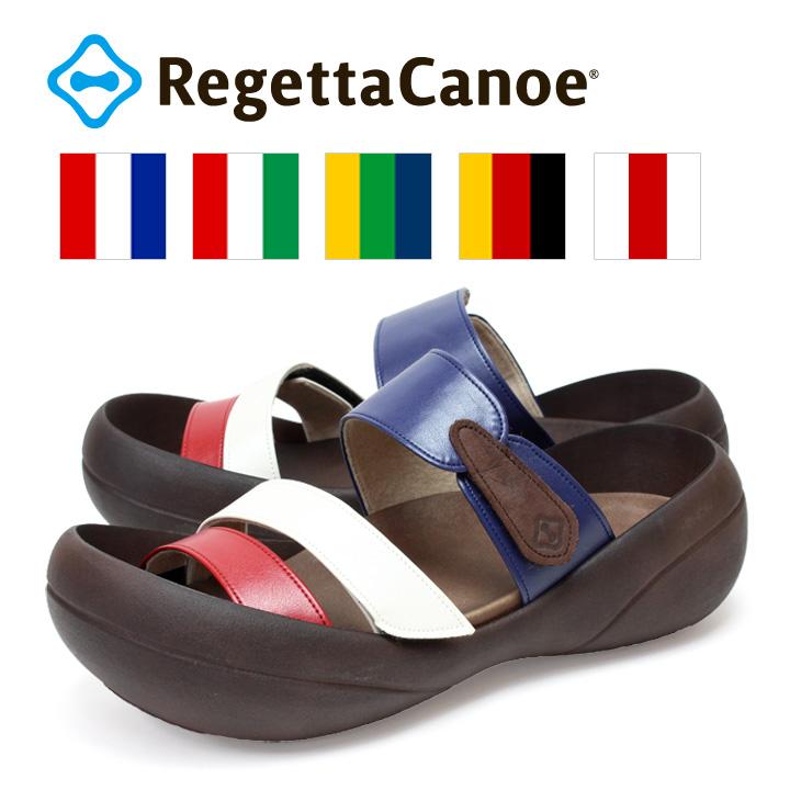 RegettaCanoe -リゲッタカヌー-CJBF-5138 ビッグフット トリコロールサンダル/メンズ