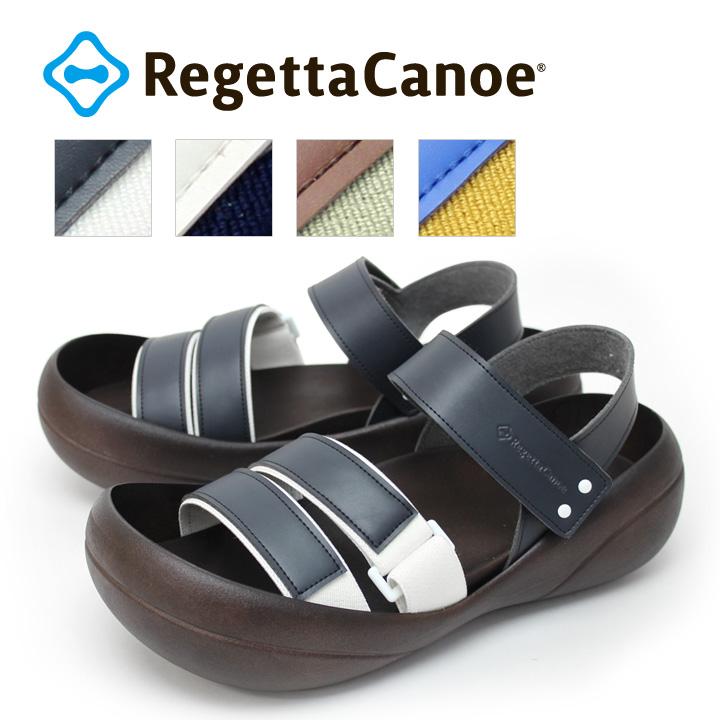 RegettaCanoe -リゲッタカヌー-CJBF-5171 ビッグフット ゴムバンドサンダル/メンズ