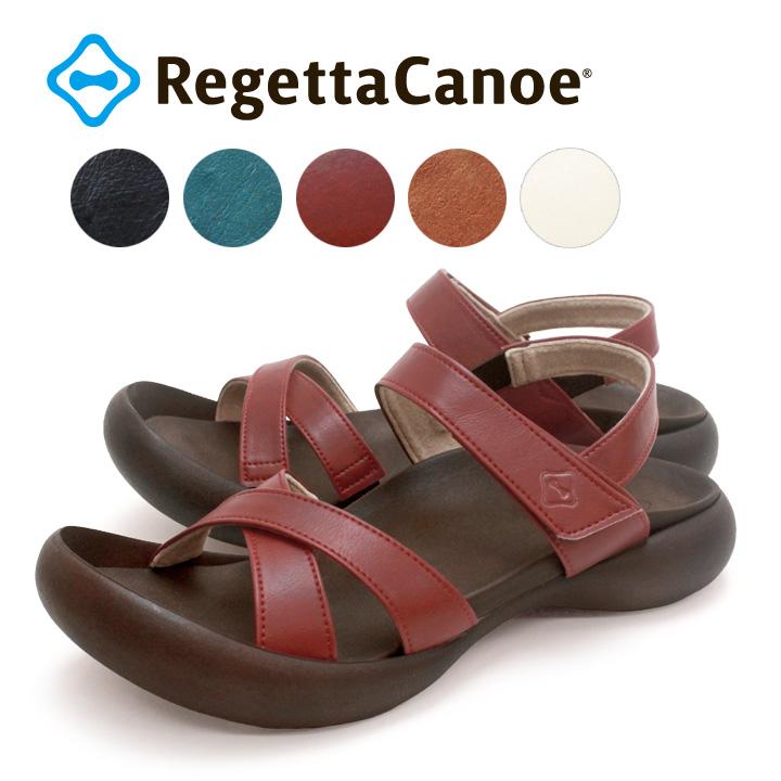 RegettaCanoe -リゲッタカヌー-CJFD-5326 フィールドソール クロスベルトストラップサンダル