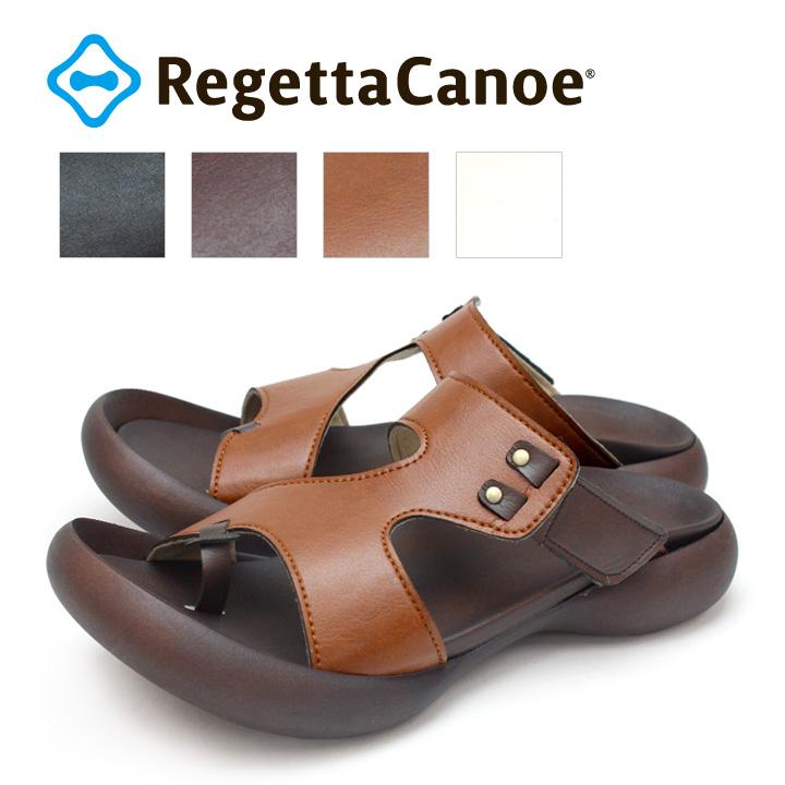 RegettaCanoe -リゲッタカヌー-CJFD-5345 フィールドソール カーブデザイントングサンダル メンズ