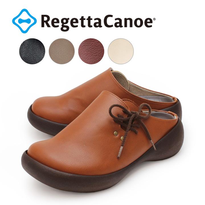 RegettaCanoe -リゲッタカヌー-CJCL-6001 クロッグシューズ カジュアルサイドレースアップサボ