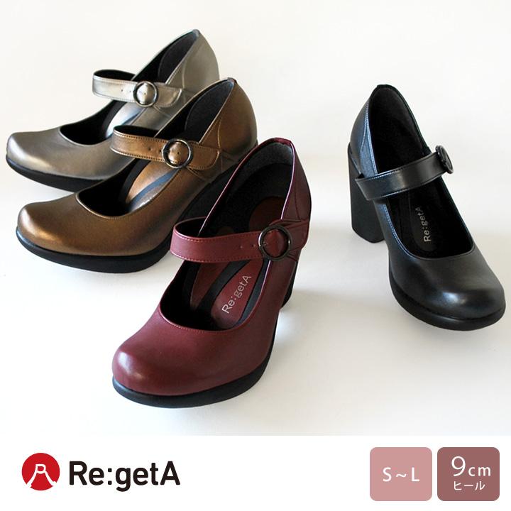 Re:getA -リゲッタ-SCR-091 リゲッタ ワンストラップ パンプス
