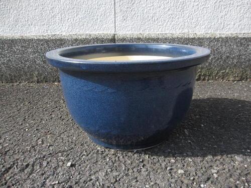 送料無料【信楽植木鉢】植木鉢大型生子輪型信楽焼植木鉢15号