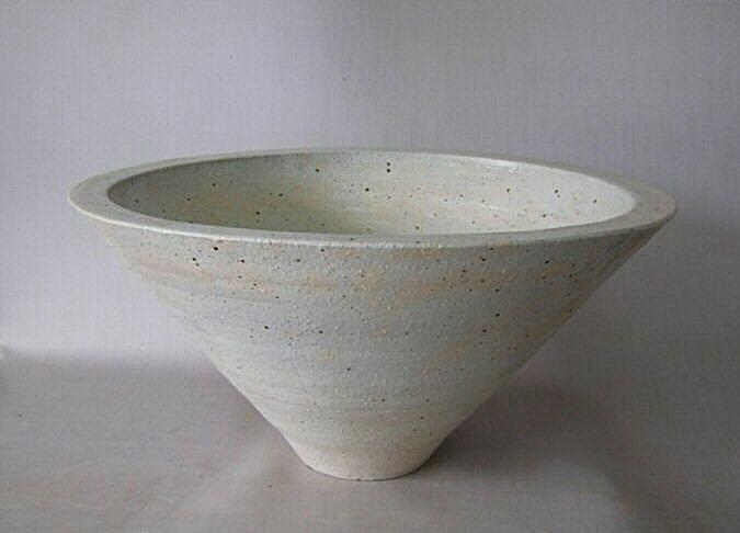 信楽焼きの技の逸品   本物の手作りの一品 水鉢 スイレン鉢 睡蓮鉢  水鉢