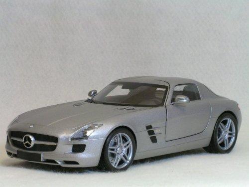 ミニチャンプス 1/18 メルセデス ベンツ SLS AMG / グレイ メタリック