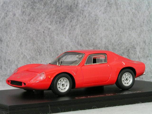 スパーク 1/43 フィアット アバルト OT1300 / 1965年 レッド