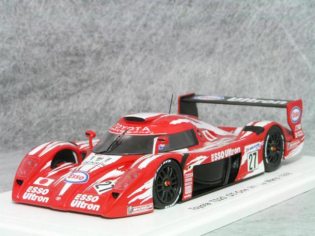 スパーク 1/43 トヨタ GT-One ( TS020 )/ 1998年 ルマン 24時間、片山右京 / 鈴木敏夫 / 土屋圭市