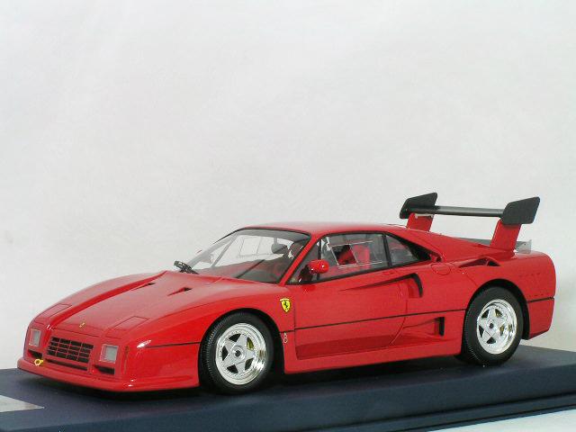 Look Smart 1/18 フェラーリ 288 GTO エヴォルツオーネ / レッド スタンダード ホィール