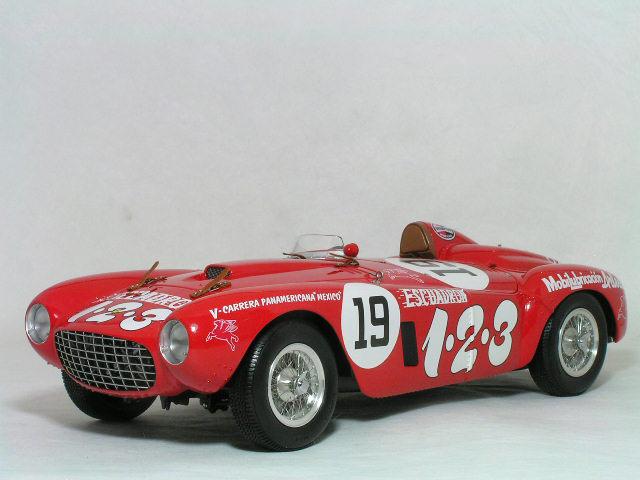 BBR 1/18 フェラーリ 375 プラス / 1954年カレラ パナメリカーナ