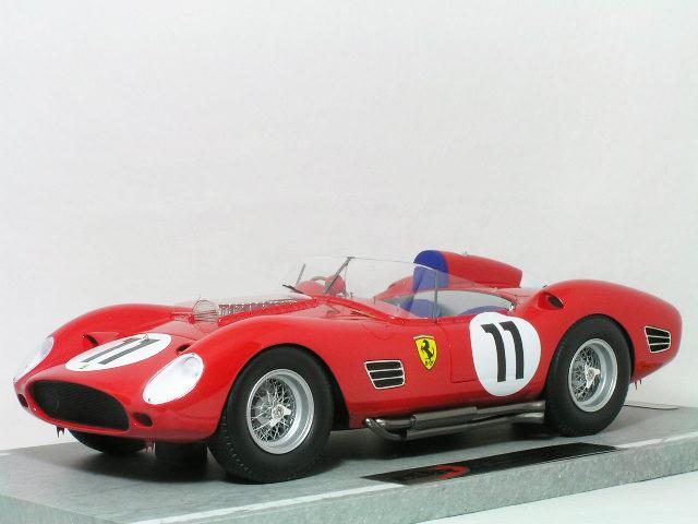 BBR 1/18 スケール フェラーリ 250 TR 59/60 (テスタロッサ)1960年 ル・マン24時間 優勝車 #11 Oliver Gendebien / Paul Frere