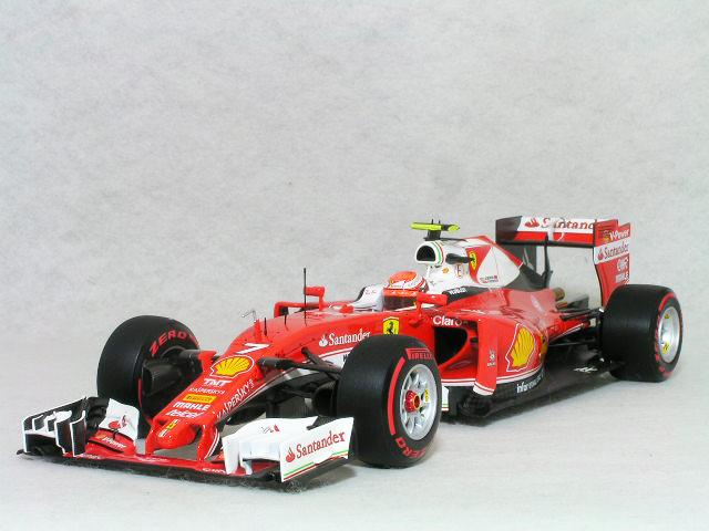 BBR 1/18 フェラーリ SF16-H / スクーデリア フェラーリ キミ・ライコネン 2016年 イタリア GP