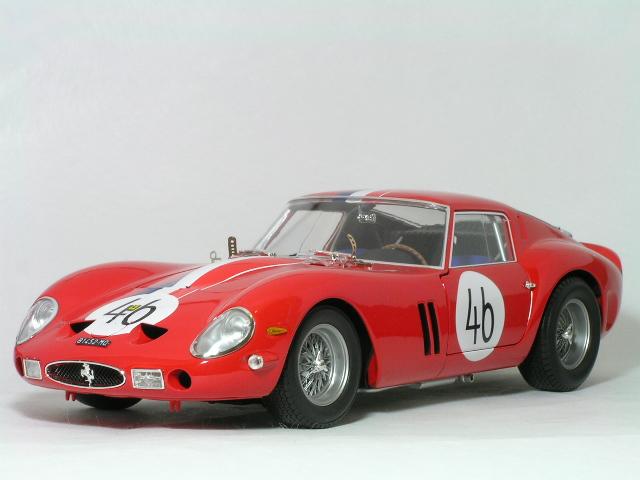 Kyosho 1/18 フェラーリ 250 GTO 1963年 ニュルブルックリンク #46