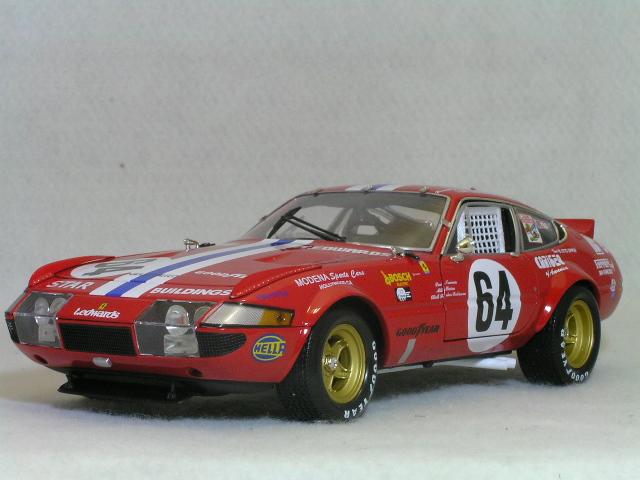 Kyosho 1/18 フェラーリ 365GTB/4 デイトナ 1977年 デイトナ24時間 #64
