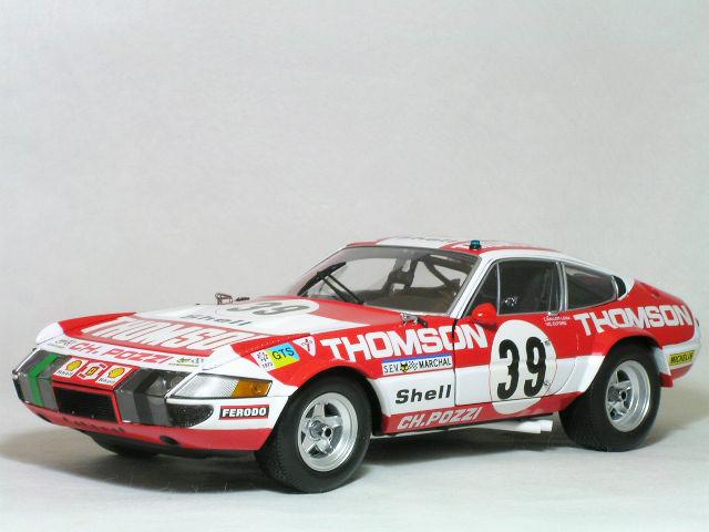Kyosho 1/18 フェラーリ 365 GTB / 4 デイトナ コンペティツィオーネ #39