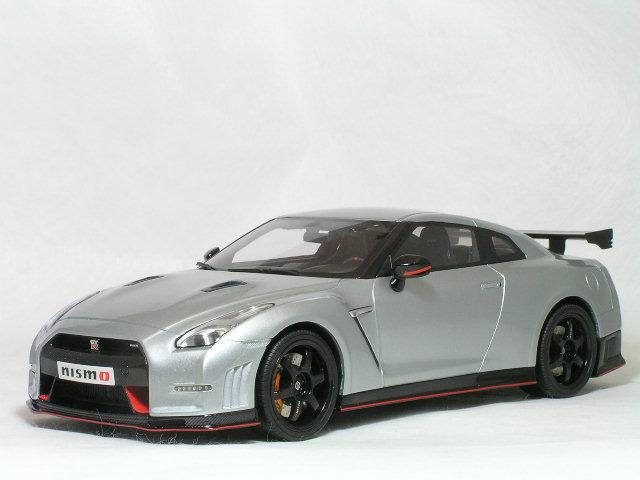 GT SPRIT 1/18 ニッサン GT-R ( R35 ) ニスモ / アルティメイト メタルシルバー