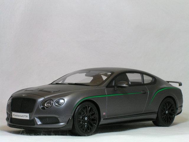 GT SPRIT 1/18 ベントレー コンチネンタル GT3-R / マット グレー