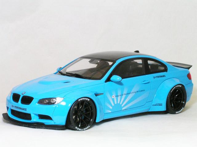 Kyosho ( GT SPRIT ) 1/18 LB ワークス BMW M3 (E92) ベビー ブルー