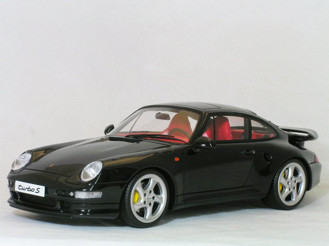 GT SPRIT 1/18 ポルシェ 911 ( 993 )ターボ S / ブラック