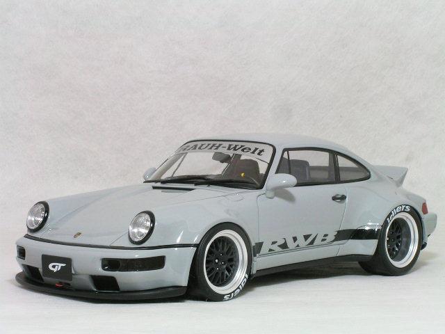 GT SPRIT 1/18 RWB ポルシェ 911 ( タイプ964 ) ダックテール / グレー